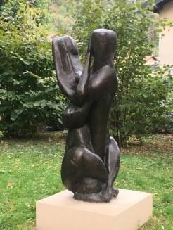 Henri Etienne-Martin, Grand Couple, bronze, 1947
