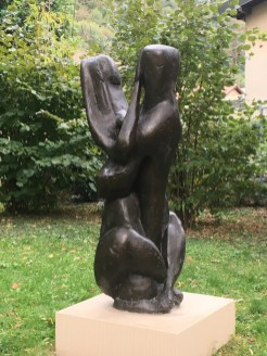 Henri Etienne-Martin, Grand Couple, bronze, 1947