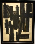 Pierre Soulages - Composition - 1952
