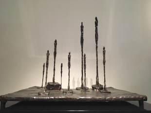 Alberto Giacometti - La clairiere - bronze with brown patina. 1950
