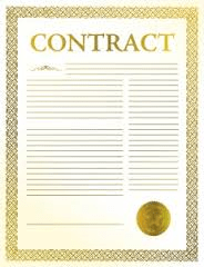 Template contract