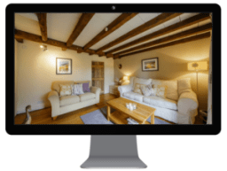 holiday home website lounge