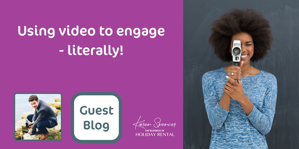 Using  Video To Engage – Literally!