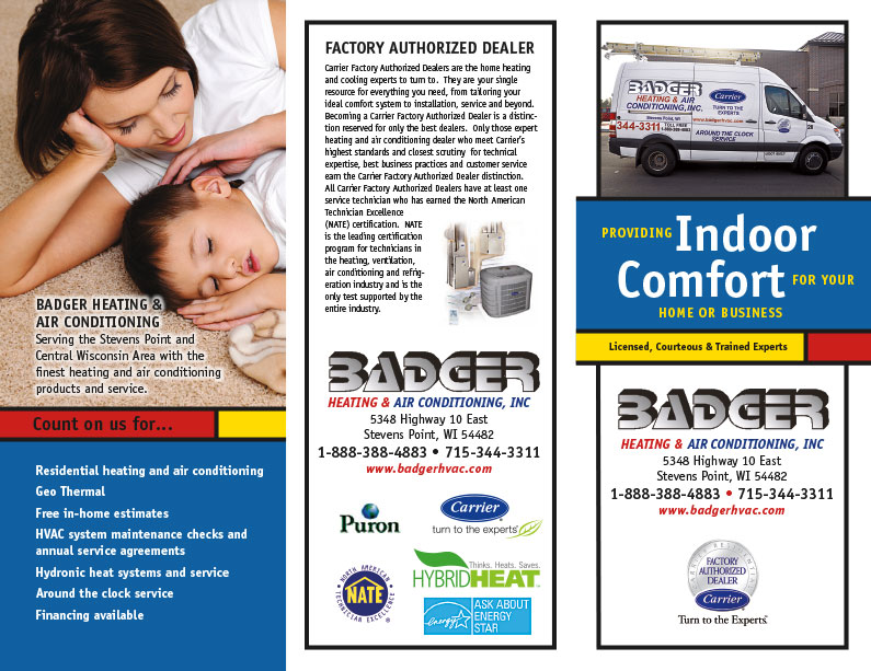 Badger Heating And Air Conditioning – The Business Source