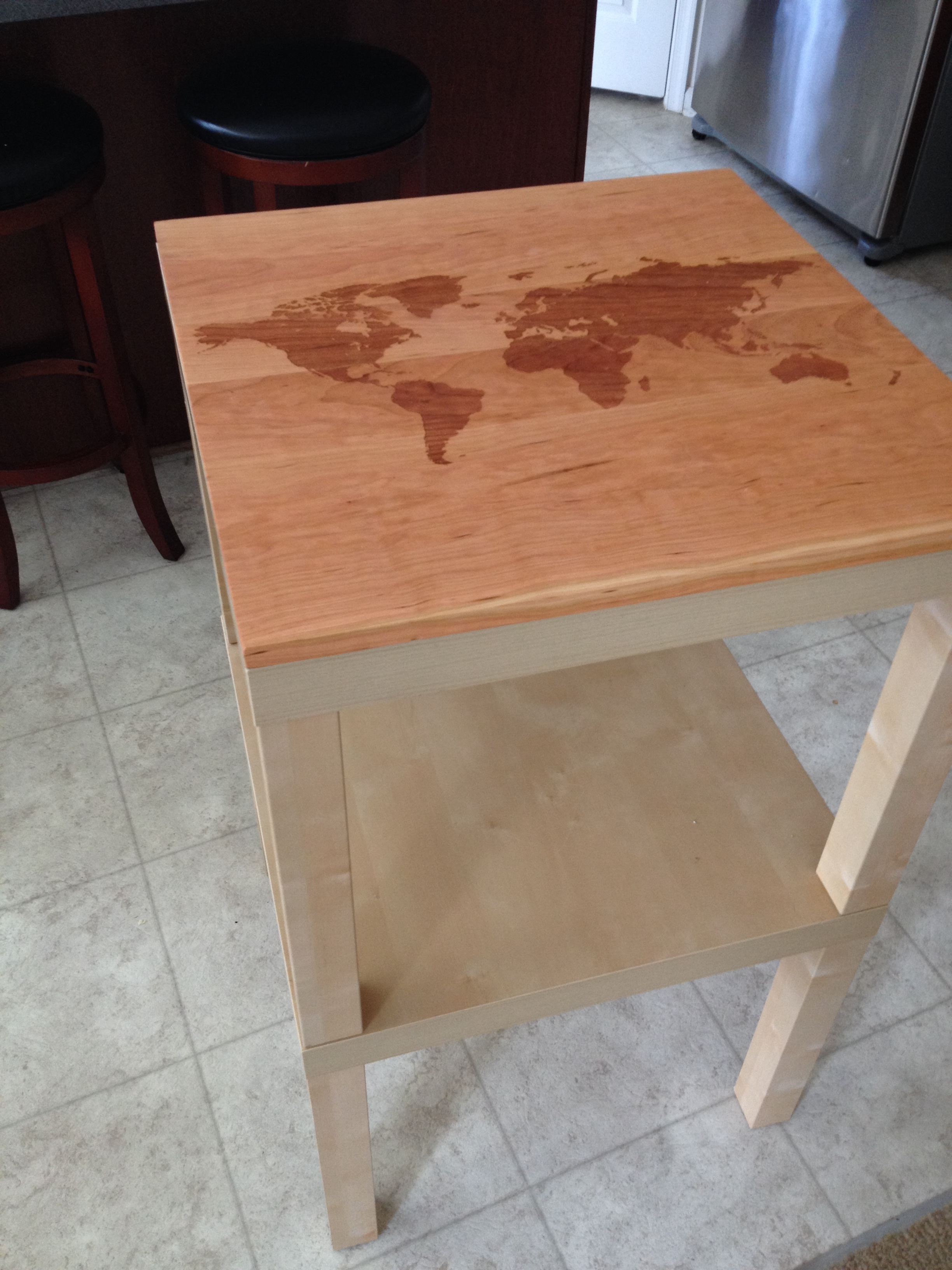 My Ikea Lack Table Hack  thebusybeecrafter