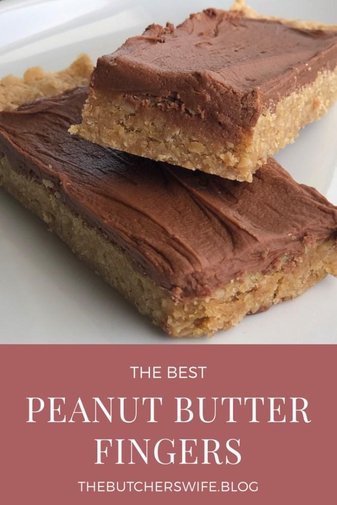 the Best peanut butter fingers