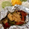 Foil packet fajitas- easy dinner perfectly portioned on the grill