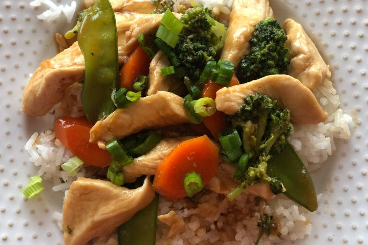 Fast and Easy Chicken Stir Fry