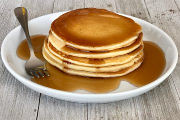 Easy and tasty homemade pancakes