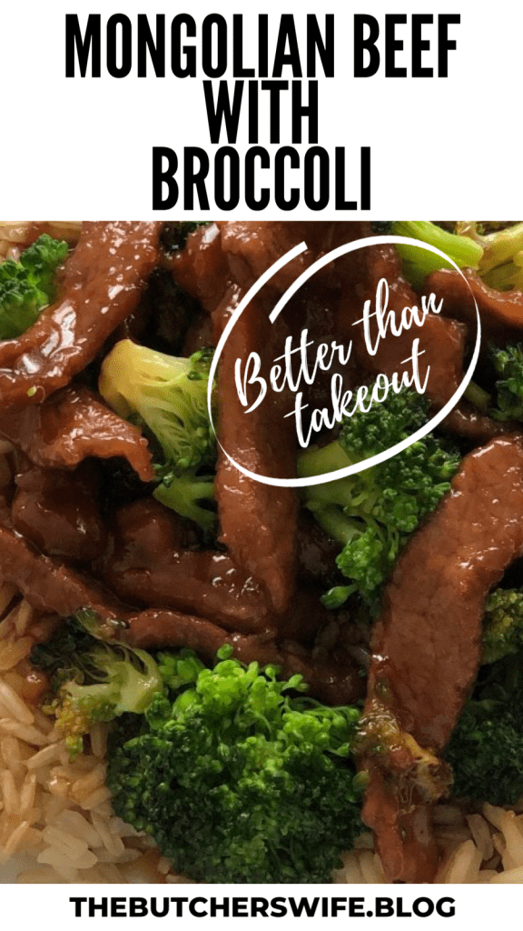 Mongolian Beef with Broccoli | The Butcher's Wife