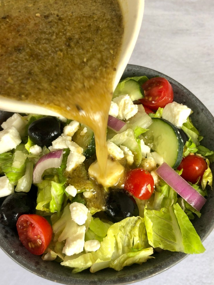 Easy Greek Salad | The Butcher's Wife