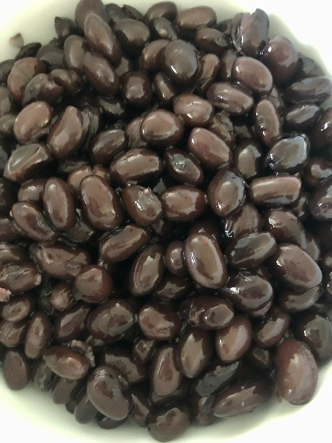 black beans for southwest chicken wraps