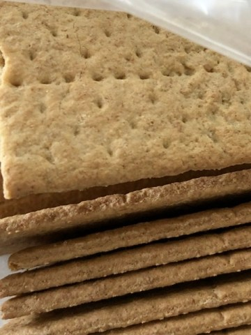 graham crackers for Sheet Pan S'mores