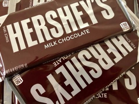 Hershey's Milk Chocolate Bars for Sheet Pan S'mores