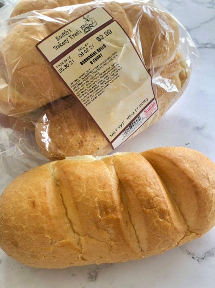 hoagie rolls for Easy French Dip