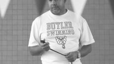 Butler University women's swim team practice October 3, 2013