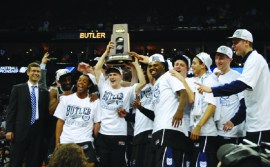 Butler made it to back-to-back national title games in 2010 and 2011. Collegian file photo