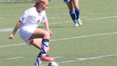 Junior Sophia Maccagnone led Butler in goals last season. Collegian File Photo.