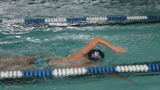 The swimming team is getting ready for its meet at Miami of Ohio this Saturday.