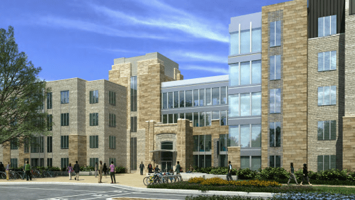 The new dorm will cost approximately $42 million.