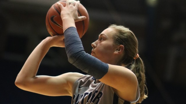 Belle Obert scored a team-high 19 points and added 7 rebounds in Butler's
