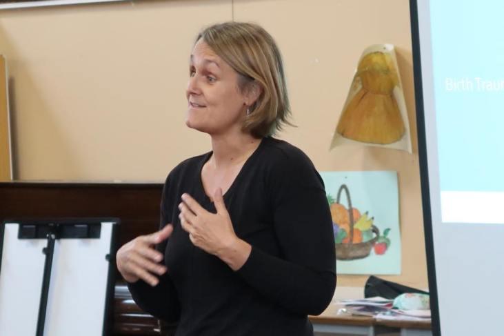 Consultant Psychiatrist Dr Becca Moore talks about Birth Trauma & PTSD
