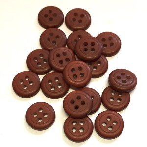 small brown buttons