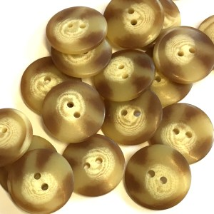 brown marbled buttons