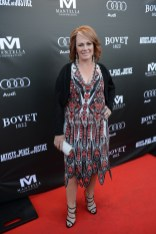Arlene Dickinson arrives at the Artists for Peace and Justice Festival Gala co-presented by Audi Canada at Casa Loma during the Toronto International Film Festival.
