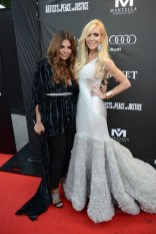 Natasha Koifman and Sylvia Mantella arrives at the Artists for Peace and Justice Festival Gala co-presented by Audi Canada at Casa Loma during the Toronto International Film Festival.