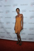 Yasmin Warsame arrives at Montecito Restaurant for the film party presented by Audi after the special presentation screening of The Judge during the Toronto International Film Festival.