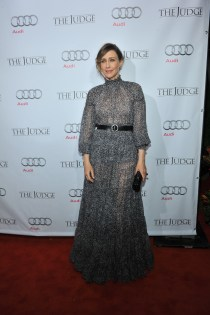 Vera Farmiga arrives at Montecito Restaurant for the film party presented by Audi after the special presentation screening of The Judge during the Toronto International Film Festival.