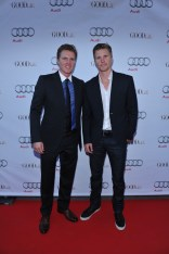 Trent and Thad Luckinbill arrive at Nota Bene for the film party presented by Audi after the special presentation screening of The Good Lie during the Toronto International Film Festival.