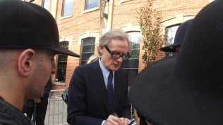 Bill Nighy arrives at The Citizen for the film party presented by Audi after the special presentation screening of PRIDE during the Toronto International Film Festival.