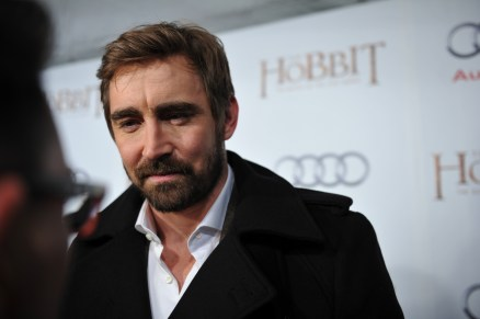 Lee Pace arrives at the Windsor Arms Hotel for the film party presented by Audi Canada after the Canadian premiere screening of The Hobbit: The Battle of the Five Armies.