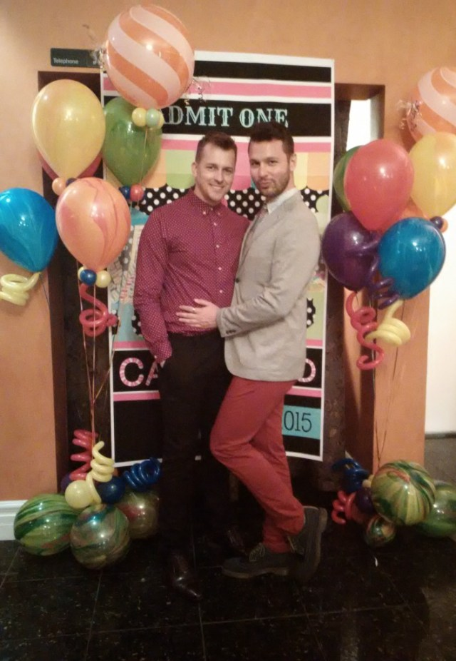 Jason Yantha and Andrew Edwards of MTV Canada's 1 Girl 5 Gays