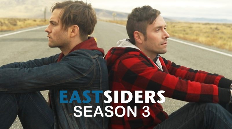 """Self-deprecating """"Eastsiders"""" normalizes gay love and life on a road"""