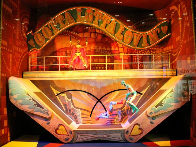 Bloomingdales Cirque du Soleil Worlds Away Holiday