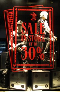 DIESEL Cards SALE Window Display 2012 - Best Window Displays