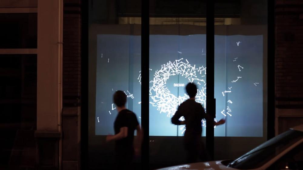 VITRINE Interactive Window Installation by Bagaar  Best Window Displays