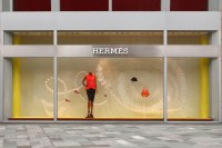 "Herms ""A Sporting Life"" window display by Design Systems ..."