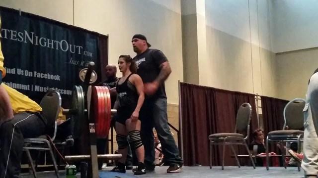 Female Powerlifter