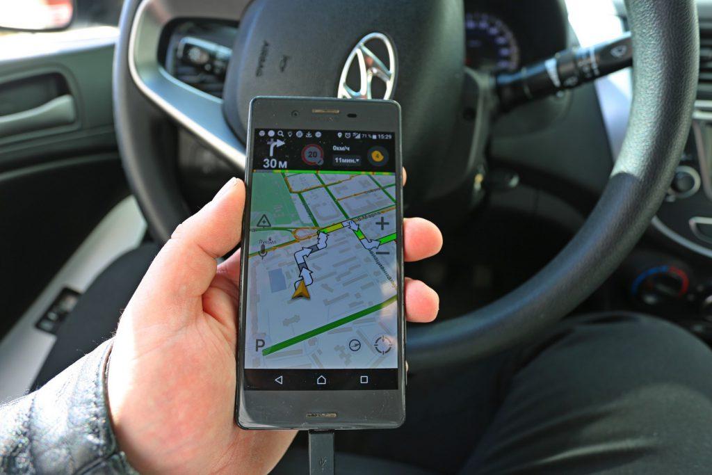Навигатор для такси в смартфоне