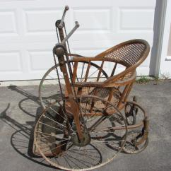 The Bike Chair Hairdresser Dimensions Gendron Wheel Bicycle Classic And Antique