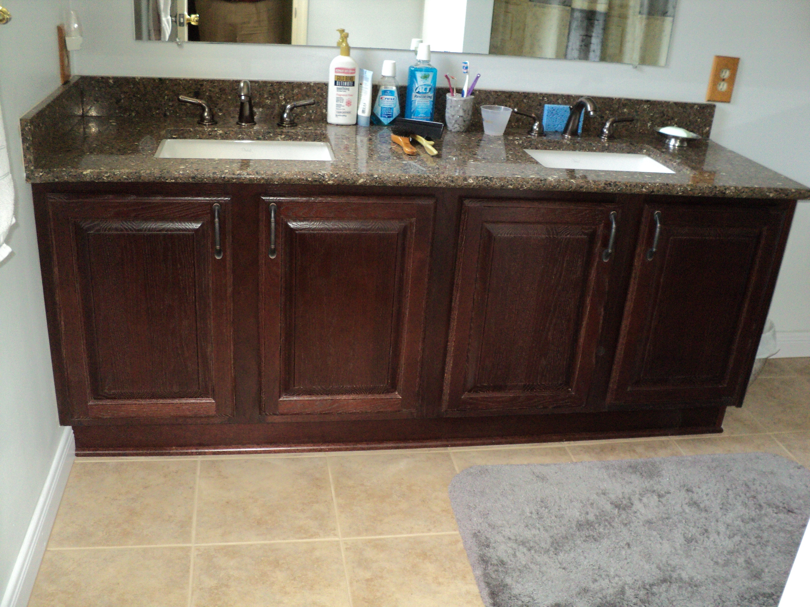 Can I Reface My Bathroom Vanity  thecabinetremodeler