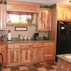 Hickory Kitchen Cabinets Sieve The Plus Rustic