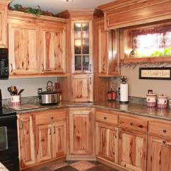 Hickory Kitchen Cabinets Redo The Plus Rustic
