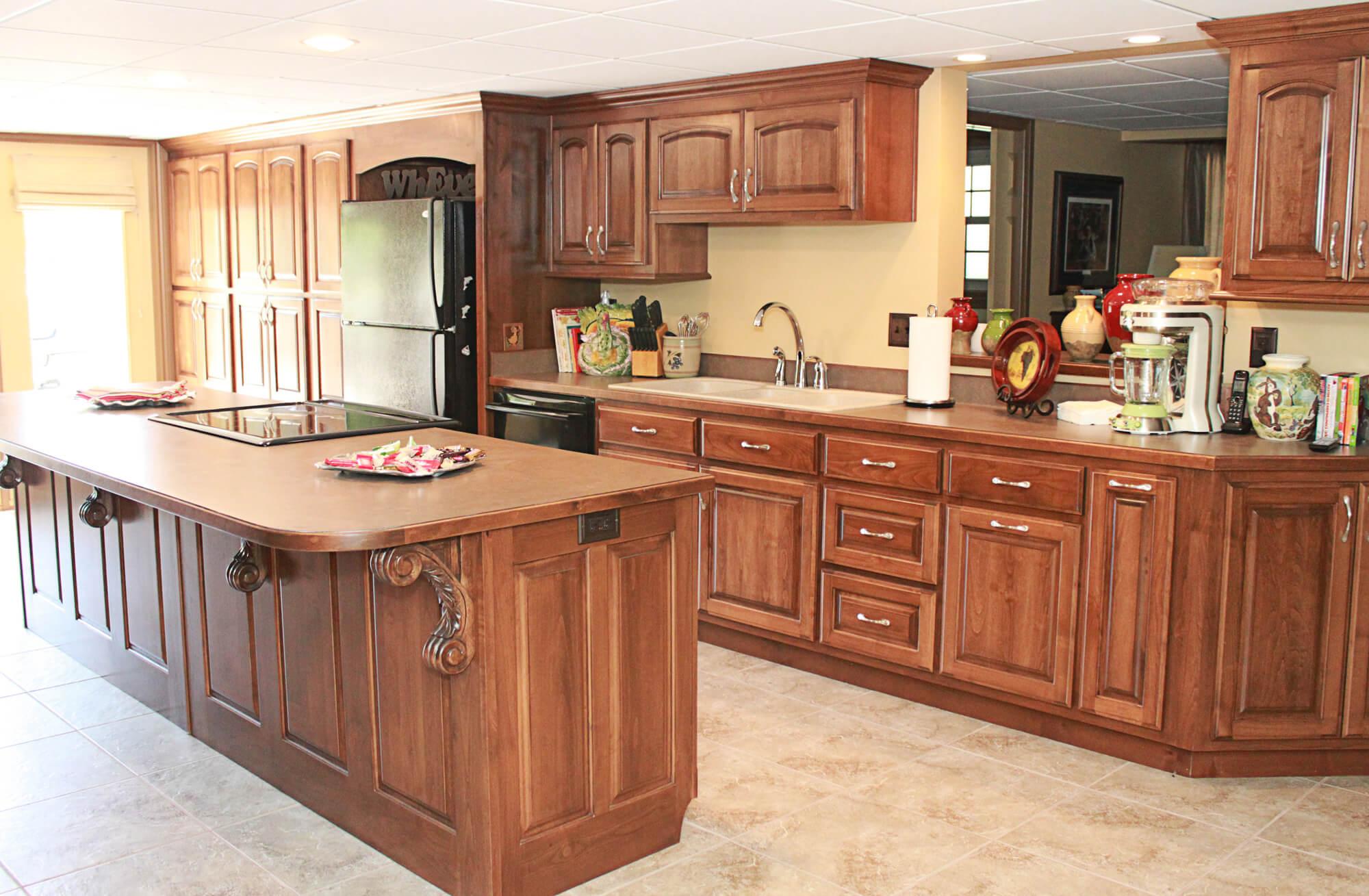 alder kitchen cabinets pendant lights the plus clear
