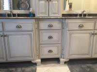 The Cabinets Plus | Painted Bathroom Cabinets
