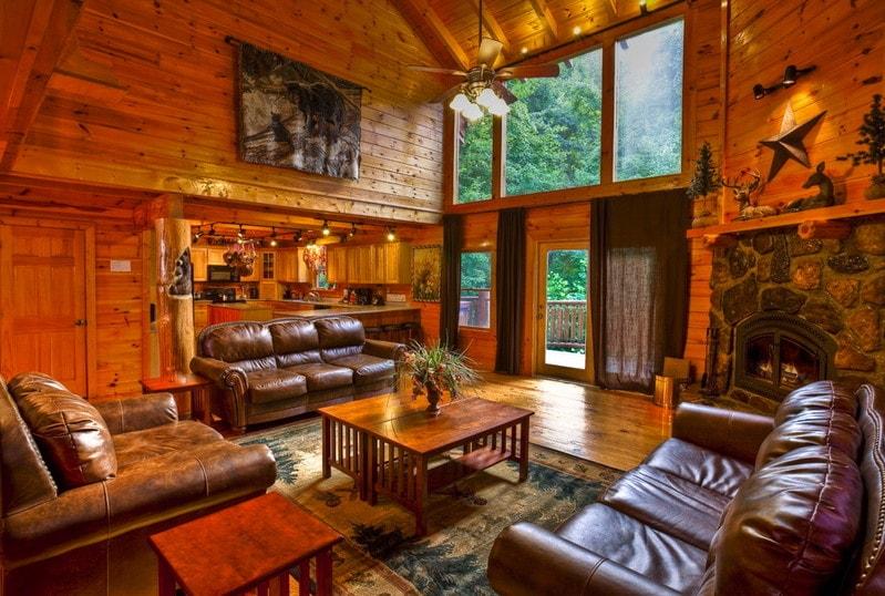 Gatlinburg Cabin Rentals  Gatlinburg Mansions  1 Cabin